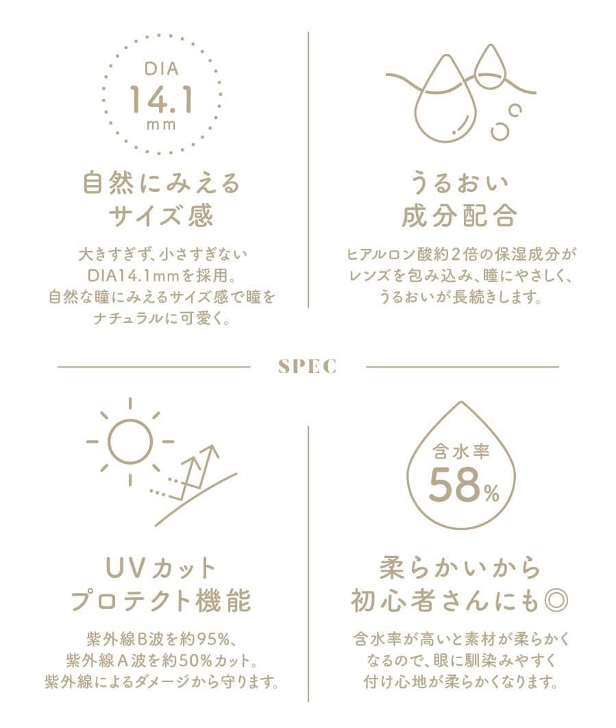 香音ちゃんイメージモデルCheritta(チェリッタ) スペック