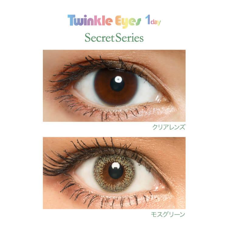 TwinkleEyes 1day Secret series/10枚入 ワンデー1日使い捨て(度なし・度あり)[ネコポス対応商品]
